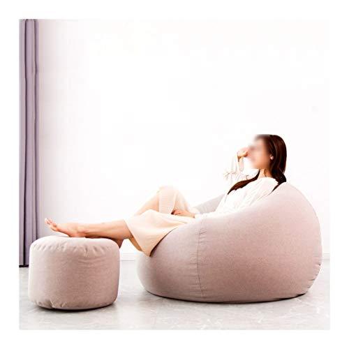 SD Bean Bag Chaise/canapé/avec Repose-Pied/1 Poches/Convient pour intérieur et extérieur/pour Enfants et adultes/100 * 110 cm