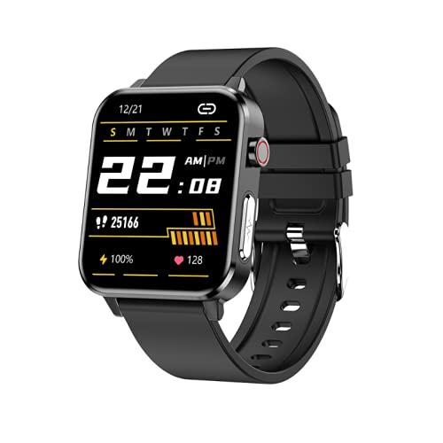 ZXING Reloj Inteligente Rastreador de Actividad Impermeable Banda de Podómetro de Pantalla Táctil Monitor de Seguimiento de Ritmo Cardíaco de Actividad Pulsera Inteligente para Hombres