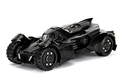 Jada Toys 253212003 Batman Arkham Knight Batmobil, Auto, Spielzeugauto aus Die-cast, zu öffnende Türen, Maßstab 1:32, schwarz