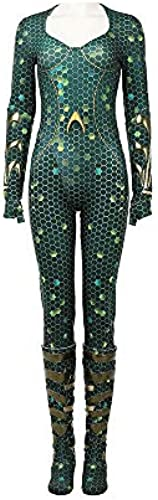 Glam Cos Man of Aqua Mera Weißliches Cosplay-Kostüm, bernsteinfarben