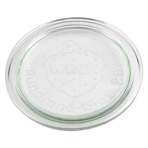 10x WECK-Glasdeckel RR80