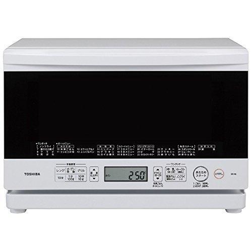 東芝 スチームオーブンレンジ 「石窯オーブン」(23L) ER-N6-W グランホワイト