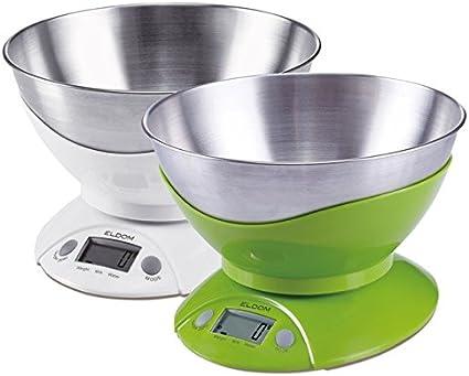 Báscula de cocina ELDOM WK280S Verde