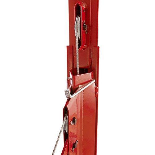 Arebos lève-plaque de plâtre XXL (Hauteur de levage jusqu'à 335 cm, capacité de levage jusqu'à 60°, utilisation par une seule personne)