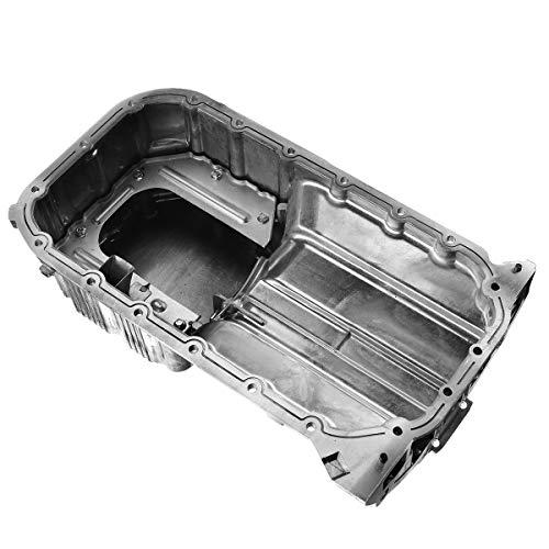 A-Premium Engine Oil Pan Replacement for Kia Soul 2010-2011 Spectra 2004-2009 Spectra5 Sportage Hyundai Elantra Tiburon Tucson l4 2.0L