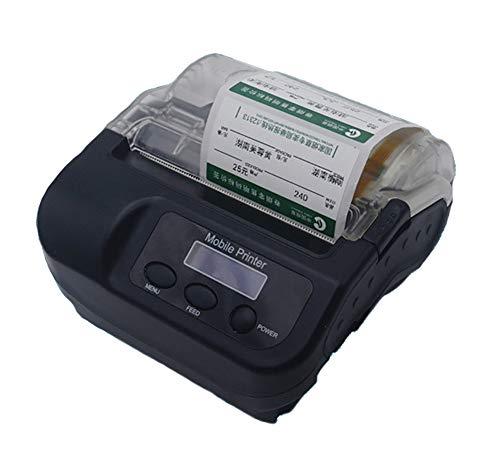 Etikettendrucker handgerät Etikettendrucker Embosser Home Handheld Bluetooth Barcode-Aufkleber QR-Code Supermarkt Wireless-Etikettendrucker für Unternehmen