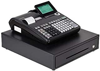 Casio Electronic Cash Registers, Dual Tape Thermal Unit with 10-Line LCD Operator/2-line Customer Displays, Black