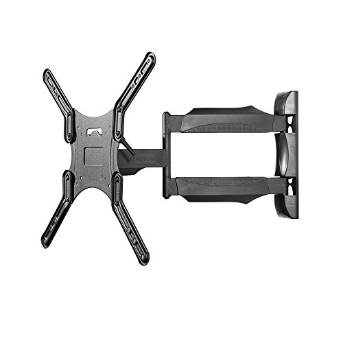 "Kanto M300 Full Motion TV Wall Mount for 26 to 55-in TVs | Articulating Arm with 19"" of Extension 
