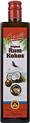 Casali Rum-Kokos Likör 15{35baf6d69324e36e7c14c70306c421fe567acd6fb3a07efa50dd77669dea30ab} Vol. 0,5 l