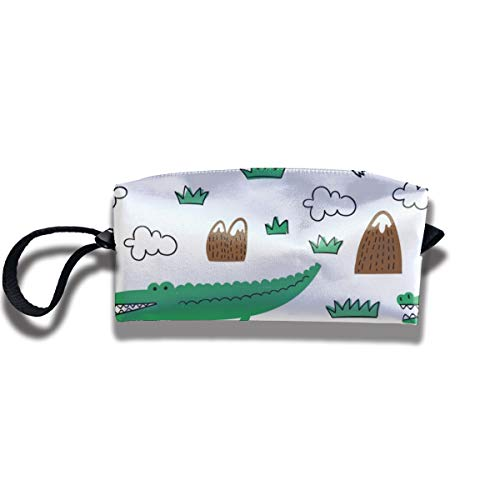 Bbhappiness Pouch Handbag Cosmetics Bag Case Purse Travel & Home Portable Make-up Receive Bag Doodle Pattern