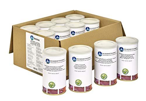 Innova 30 Tage Paket mit Fleisch und Nudeln, Langzeitnahrung, Krisenvorsorge, Notfallnahrung