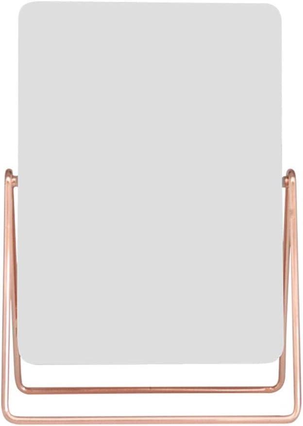 Ping Limited price Bu Qing Yun Cosmetic Single-Sided Van Desktop Mirror Metal Translated