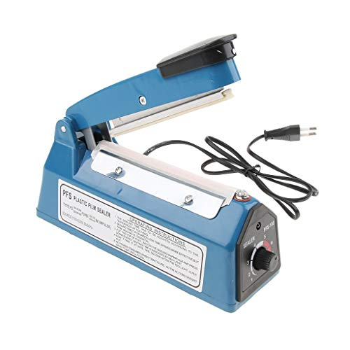 MagiDeal Hitze Sealer Folienschweißgerät Impulse Sealer Balkenschweißgerät