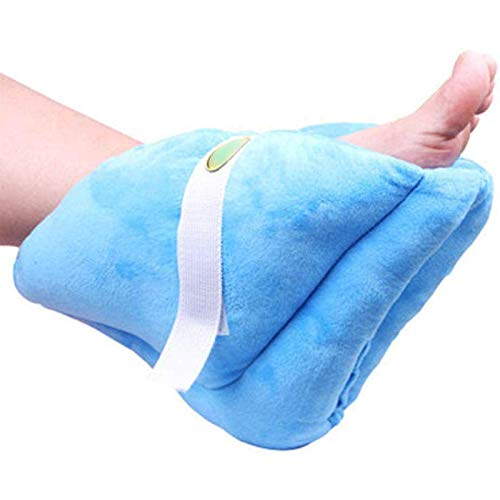 1 Piece Foot Support Pillow-Heel Cushion Protector Pillow for Relieveing Foot Pressure,Blue