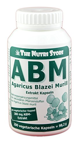 Agaricus Blazei Murill Extrakt vegetarische Kapseln 200 Stk.- ABM
