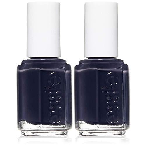 essie nail polish, after school boy blazer, blue black nail polish, 0.46 fl. oz, 2 count