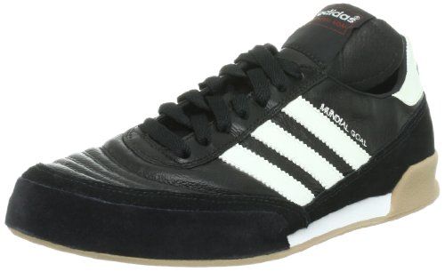 adidas Mundial Goal Herren Fußballschuhe, Schwarz (Black 1/running White/running White), 36 EU