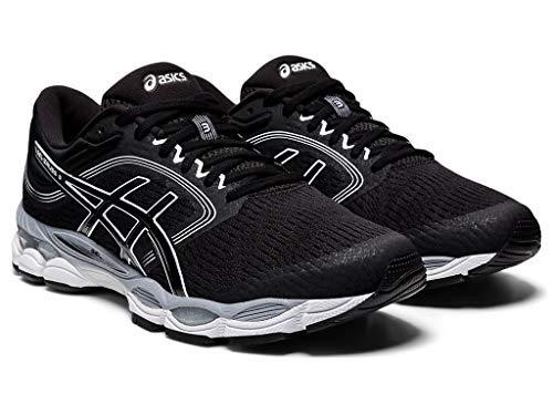 ASICS Men's Gel-Ziruss 3 MX Running Shoes, 8.5M, Black/Black