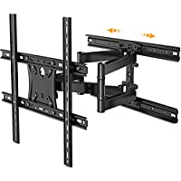 Perlesmith Full Motion TV Wall Mount for 17-55 Inch TVs