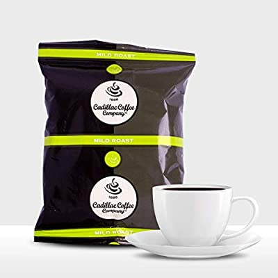 Cadillac Mild Roast Coffee | 36 packs per box | 1.35 ounce packs of Ground Coffee