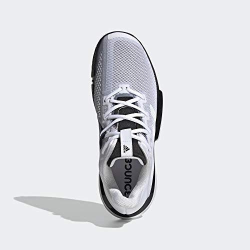 [アディダス]テニスシューズSoleMatchBounce(DQX62)ランニングホワイト/ランニングホワイト/コアブラック(G26602)26.5cm