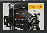 KODAK Antike Kameras 1912-1968 (Wandkalender 2021 DIN A3 quer)