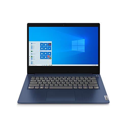 Lenovo IdeaPad 3 35,6 cm (14 Zoll) Full HD Notebook (AMD Ryzen 4 4300U, 8GB DDR4 RAM, 256GB PCIe SSD, Webcam, Win 10 Home im S Modus)