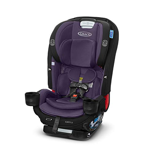Graco SlimFit3 LX 3 in 1 Car Seat | Space Saving Car Seat Fits 3 Across in Your Back Seat, Katrina