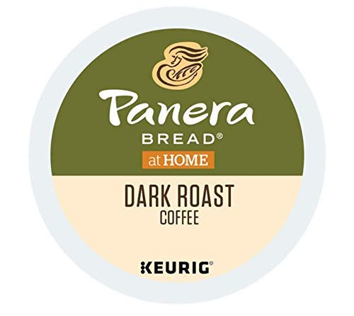 Panera Bread Single Serve Capsules for Keurig K-Cup pod Coffee Brewers, 24 Count (Dark Roast)