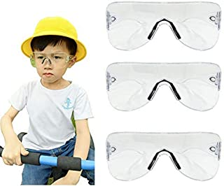 Sport Protective Safety Glasses Safety Goggles Eyewear Personal Protective Equipment/PPE Construction DIY, Home Projects & Lab for Children Women Men