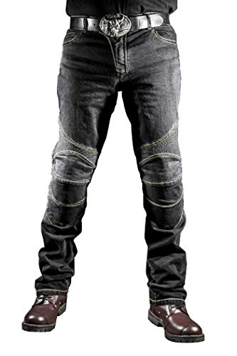 WildBee Motorrad Reithose Bike Racing mit Herren Protektorenhose Jeans