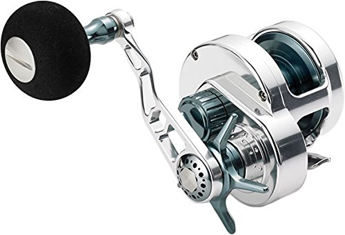 Maxell Hybrid Conventional Star Drag Jigging Reel HY20-S SILVER
