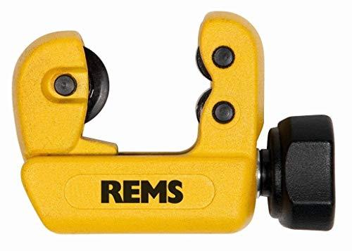 REMS Rohrabschneider RAS Cu-INOX 3-28 Mini - Installationswerkzeug zum Trennen von Rohre Durchmesser 3–28 mm, 1/8–1 1/8