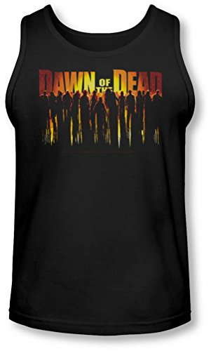 Dawn Of The Dead - - Walking Dead Tank-Top pour hommes, X-Large, Black