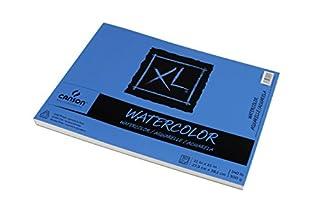 اسعار Canson XL Series Watercolor Textured Paper Pad for Paint, Pencil, Ink, Charcoal, Pastel, and Acrylic, Fold Over, 140 Pound, 11 x 15 Inch, 30 Sheets (7022446)