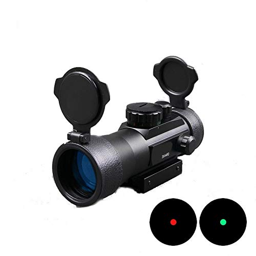 Red Dot Sight,Rifle Scope with Free 20mm Mount Rails,1x40mm Red & Green Illuminated,Holographic Sight