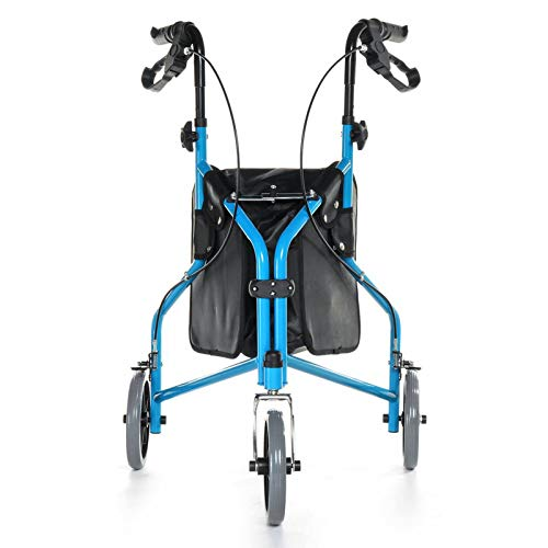 Electric oven 3 ruedas Walking-aid, silla de anciano bastón ligero Tri-walker Rollator Mobility Walking dispositivo de rehabilitación