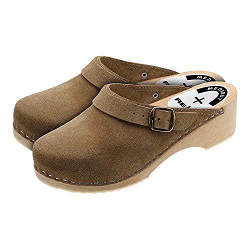 potente para casa Medibut BMDREGLBE38 – Zapatos de trabajo, beige, talla 38