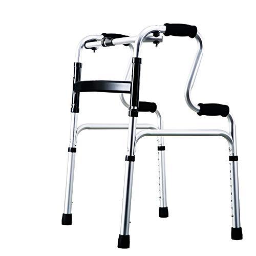Cylficl El Anciano Walker Walker Puede Ayudar a levantarse y Entrenar Las extremidades Inferiores sin polea Silla de Cuatro Patas (Color : A)