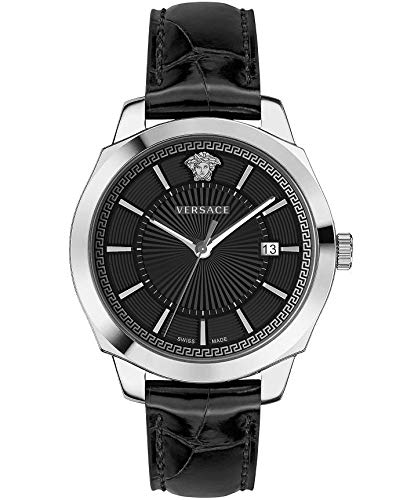 Versace Icon Classic 42 D/BLK S/BLK SS V311 VEV9001 19 - Reloj de Puls