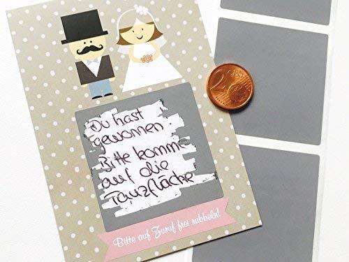 Gastgeschenk Hochzeit, Rubbelkarten zur Hochzeit, Hochzeitsdeko, Hochzeitsgastgeschenk, Hochzeitsspiel, Brautpaar