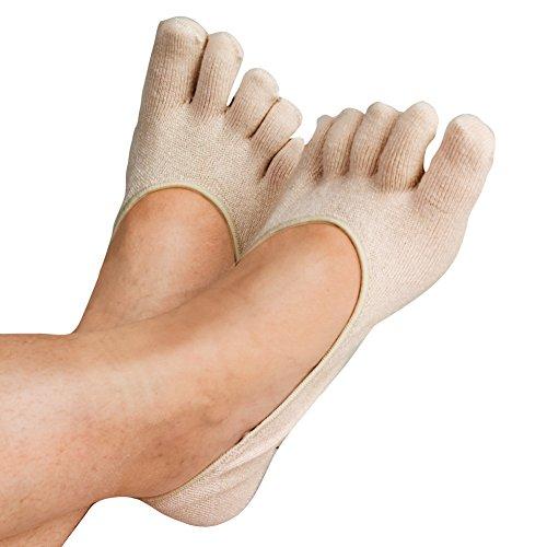 Therapeutic Invisible GEL TOE SOCKS