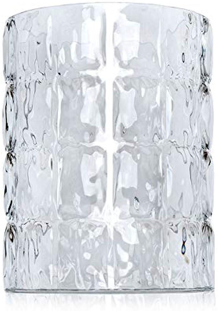 Kartell matelassè, vaso in cristallo 1225/B4