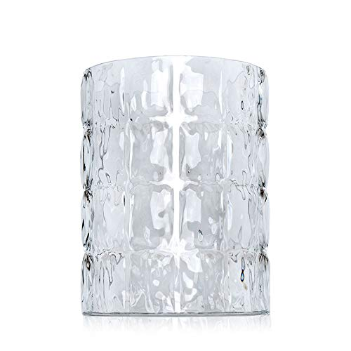 Kartell 1225B4 Vase Matelasse, 30 x 23 cm, glasklar