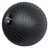 Bad Company Medizinball in 12 Gewichtsstufen I Slamball für Kraftausdauertraining I Vollball mit Gummi-Oberfläche I 3 Kg