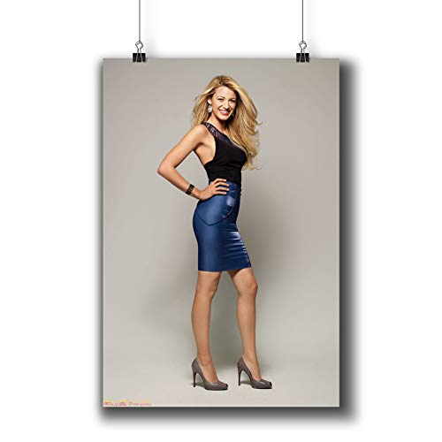 Blake Lively Actress Movie Photo Poster Prints 251-001,Wall Art Decor for Dorm Bedroom Living Room (A3|11x17inch|29x42cm)