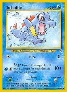Pokemon - Totodile (80) - Neo Genesis