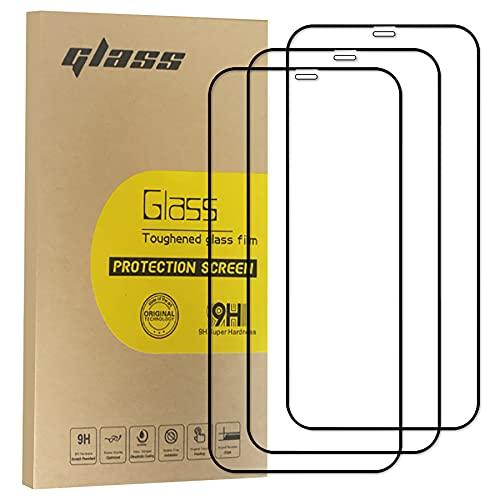 Yooyatt [3 Pack] Protector de Pantalla para iPhone 11 Pro Max/XS Max (6.5 Pulgadas) Vidrio templado de vidrio HD, Anti-arañazos y...