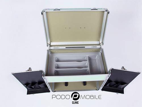 Schubladeneinsatz für den Fusspflegekoffer Modell Easy (grau)