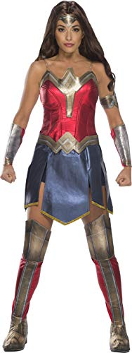 Official Warner Bros. Wonder Woman Outfit for Aduts. XS to XL